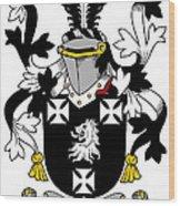Edney Coat Of Arms Irish Wood Print