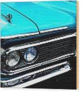 Edsel Frontal Wood Print