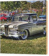 Edsel Ranchero Wood Print