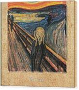 Edvard Munch 1 Wood Print