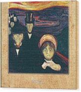 Edvard Munch 2 Wood Print