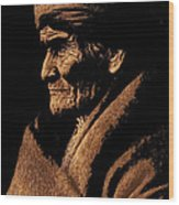 Edward S. Curtis Photograph Of Geronimo Carlisle Pennsylvania 1905-2013 Wood Print