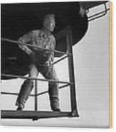 Edward Steichen, Joined The U.s. Navy Wood Print