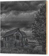 Eerie Wood Print