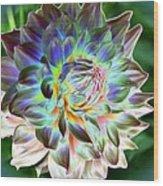Eerily Beauty Wood Print