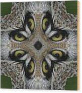 Eery Eyes - 1 Wood Print