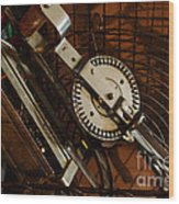 Egg Beater In Basket Wood Print
