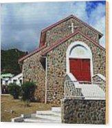 Eglise Catholique De Quartier D'orleans Wood Print