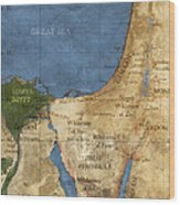 Egypt And The Holy Land Wood Print
