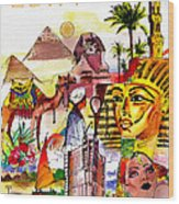 Egypt Wood Print by George Rossidis