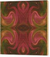 Egyptian Dance Wood Print