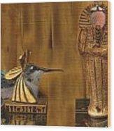 Egyptian Hummers Wood Print