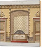 Egyptian Interior , From Interior Wood Print