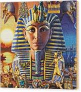 Egyptian Treasures II Wood Print