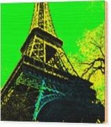 Eiffel 20130115v2 Wood Print