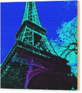 Eiffel 20130115v4 Wood Print