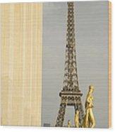 Eiffel Tour Paris Wood Print