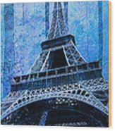 Eiffel Tower 2 Wood Print