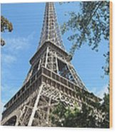 Eiffel Tower - 2 Wood Print