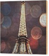 Eiffel Tower-4 Wood Print