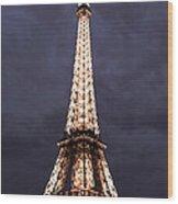 Eiffel Tower-1 Wood Print