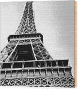 Eiffel Tower Up Close 3 Wood Print