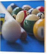 Eight Ball Wood Print