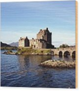 Eilean Donan Castle Kintail Scotland Wood Print