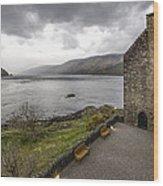 Eilean Donan Castle - 6 Wood Print