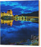 Eilean Donan Castle Scotland IIi Wood Print