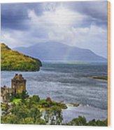 Eilean Donan Loch Duich Wood Print