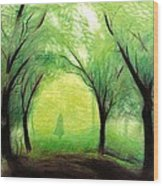 Eire Wood Print