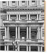 Eisenhower Executive Building Wood Print