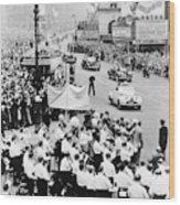 Eisenhower Victory Parade Wood Print
