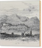 Eisteddfod Or Congress Of Welsh Literati At Conway Castle Wood Print