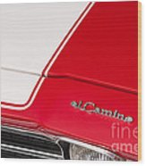 El Camino 04 Wood Print