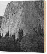 El Cap Wood Print