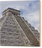 El Castillo Wood Print