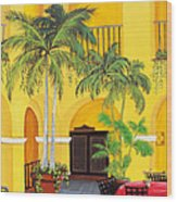 El Convento In Old San Juan Wood Print