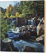 El Dorado Falls Wood Print