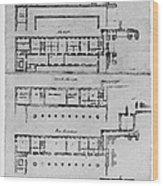 El Escorial: Apartments Wood Print