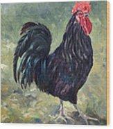 El Gallo - The Cockerel Wood Print