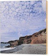 El Golfo On Lanzarote Wood Print