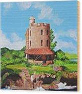 El Morrillo Fort In Matanzas Cuba Wood Print