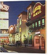El Rancho Vintage Vegas Wood Print