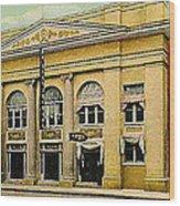 El Reno Oklahoma Opera House And Theatre 1910- Dwight Goss Wood Print