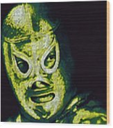 El Santo The Masked Wrestler 20130218p39 Wood Print