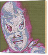 El Santo The Masked Wrestler 20130218v2m168 Wood Print