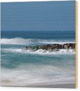 El Segundo Beach Jetty Wood Print