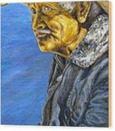 El Vaquero Suena Wood Print